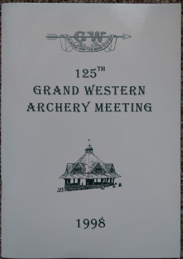 Dunster 125th Grand Western Archery Meeting booklet
